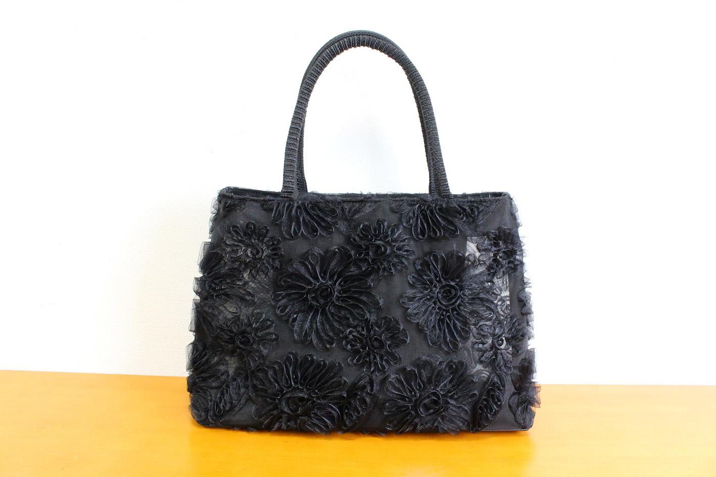 Ribbon lace bag(flower)