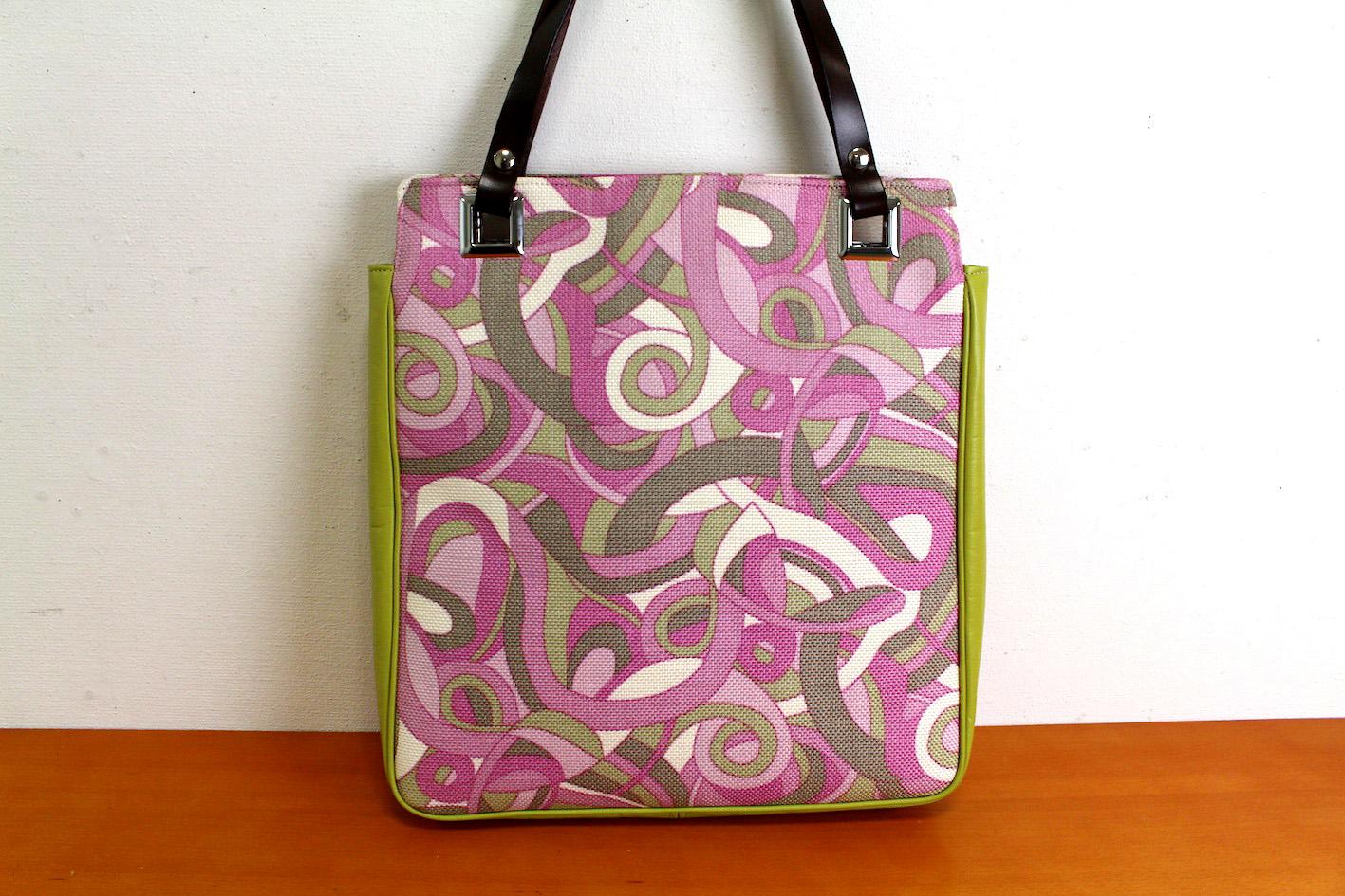 ATSUKO_Tote bag_4(Pink&Green)--1