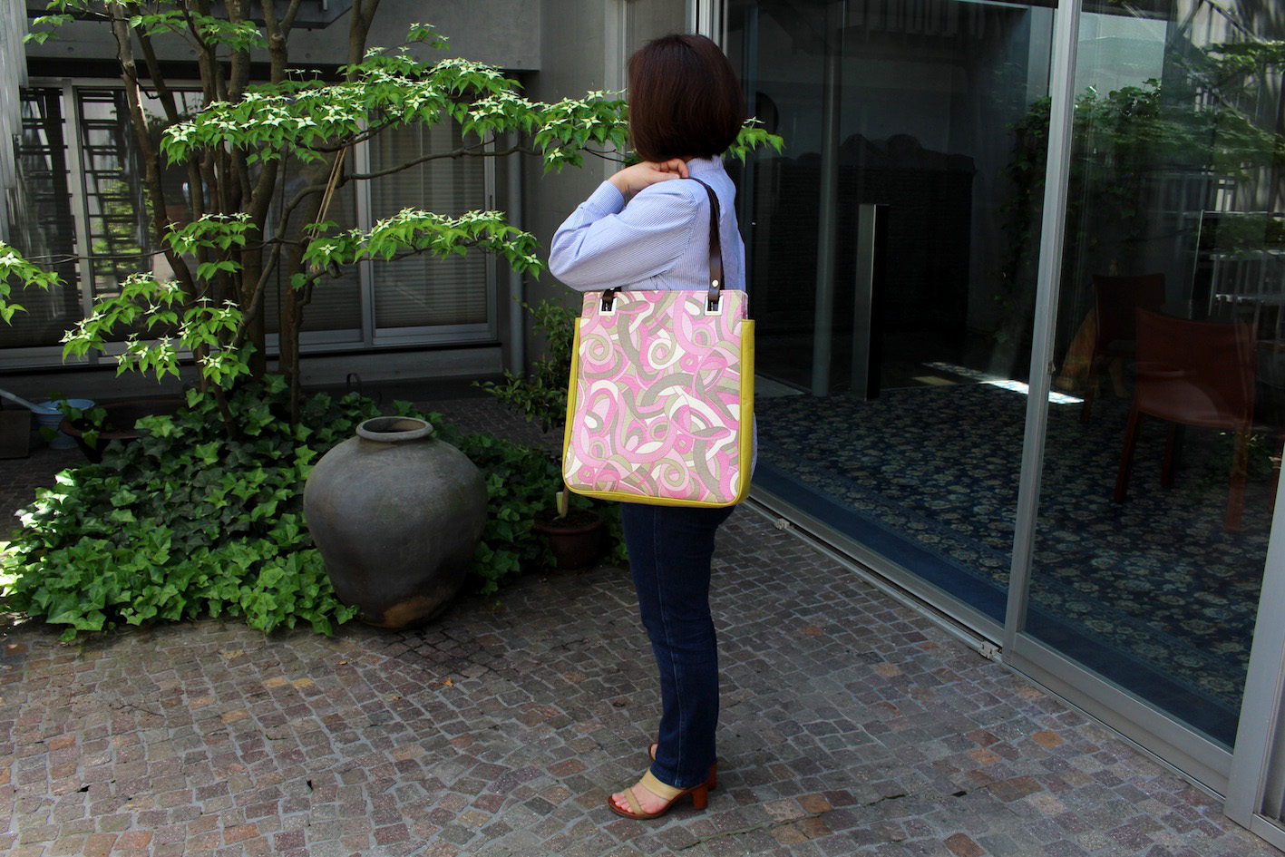ATSUKO_Tote bag_4(Pink&Green)--6