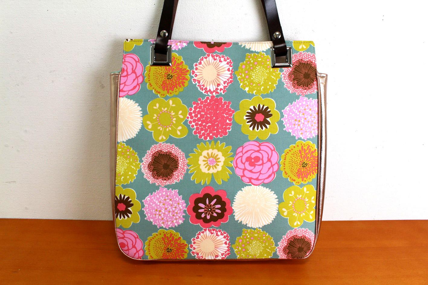 ATSUKO_Tote bag_2(Flower&Pink)
