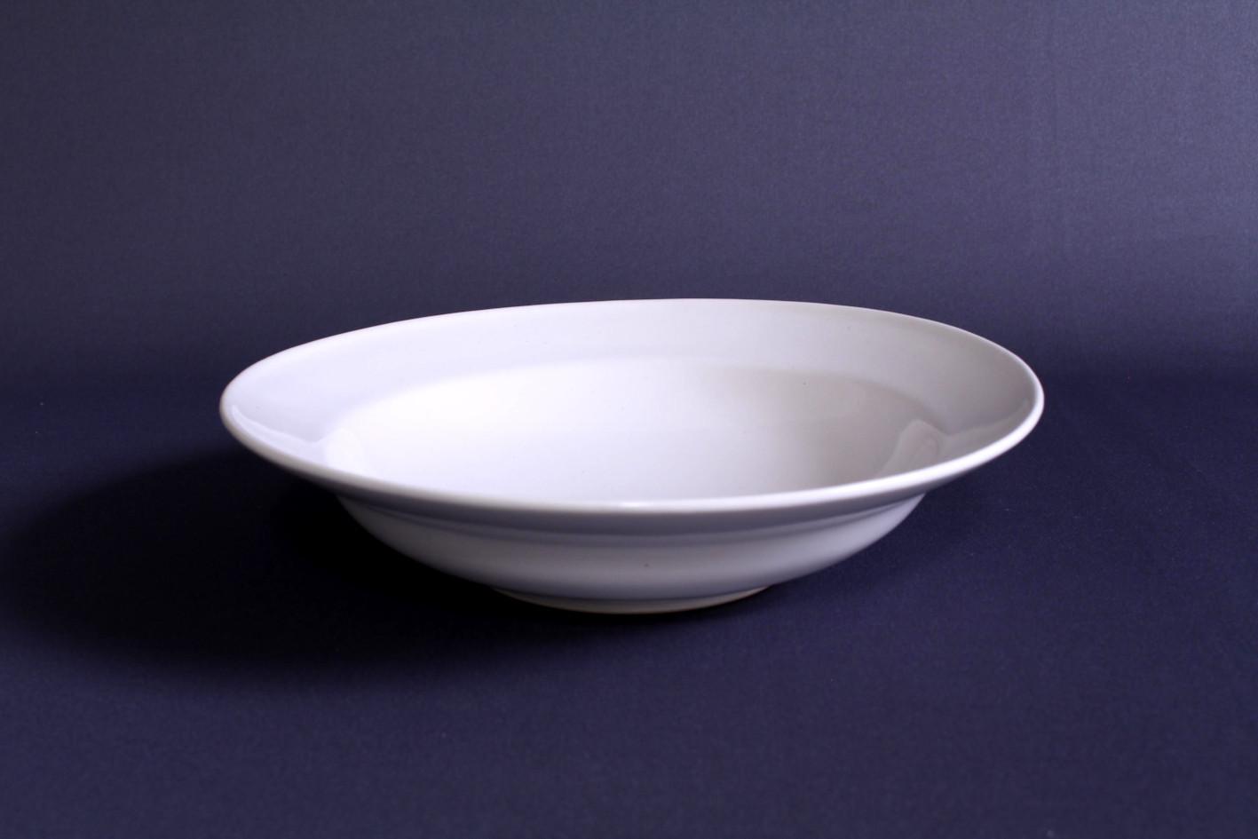 石田誠 / 7寸ハットボウル(ホワイト)
