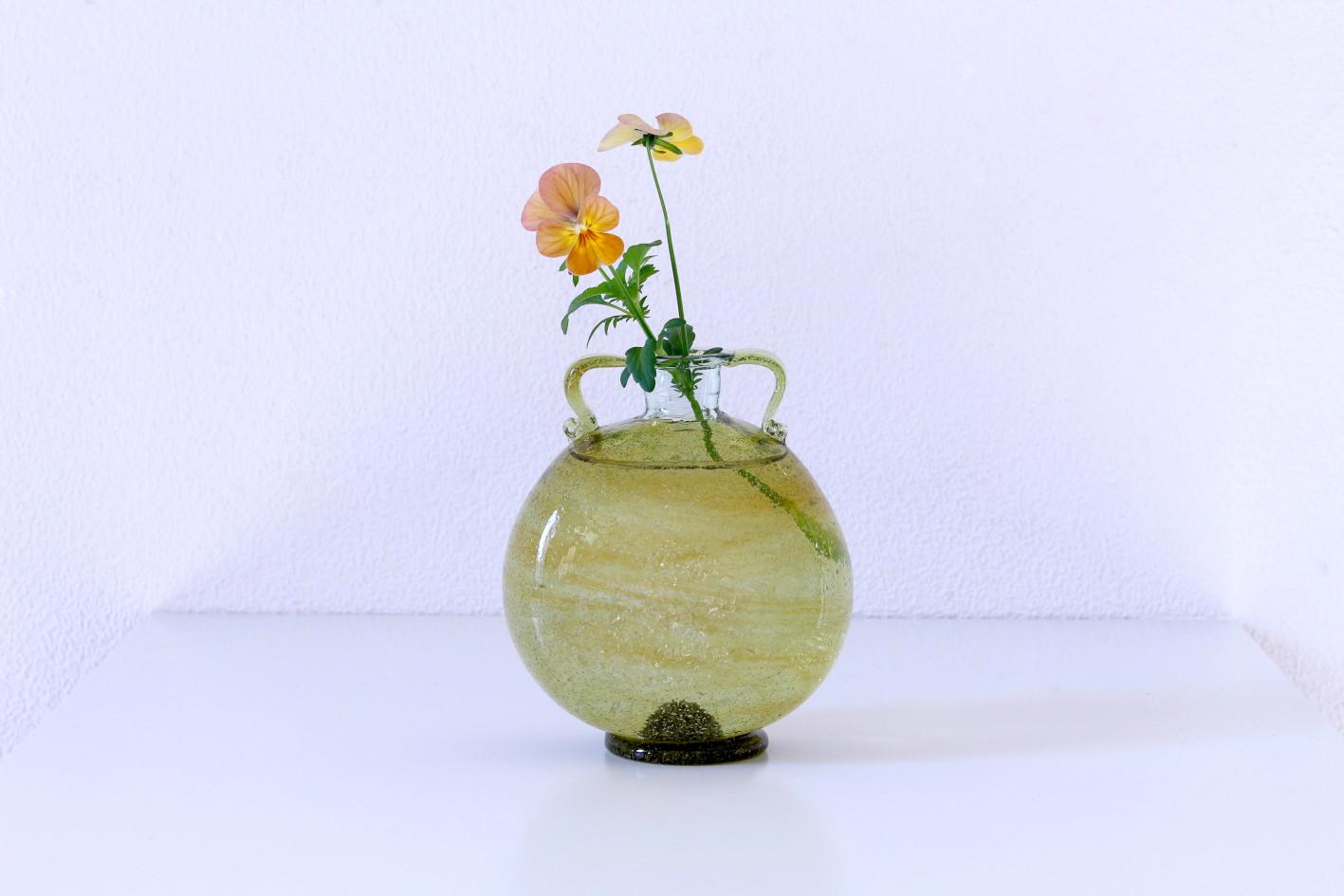 西川孝次 /うぐいす耳付平瓶