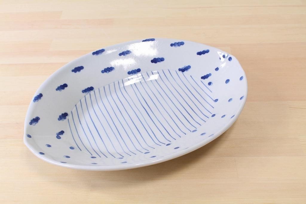 杉浦綾 / はりあわせ楕円皿