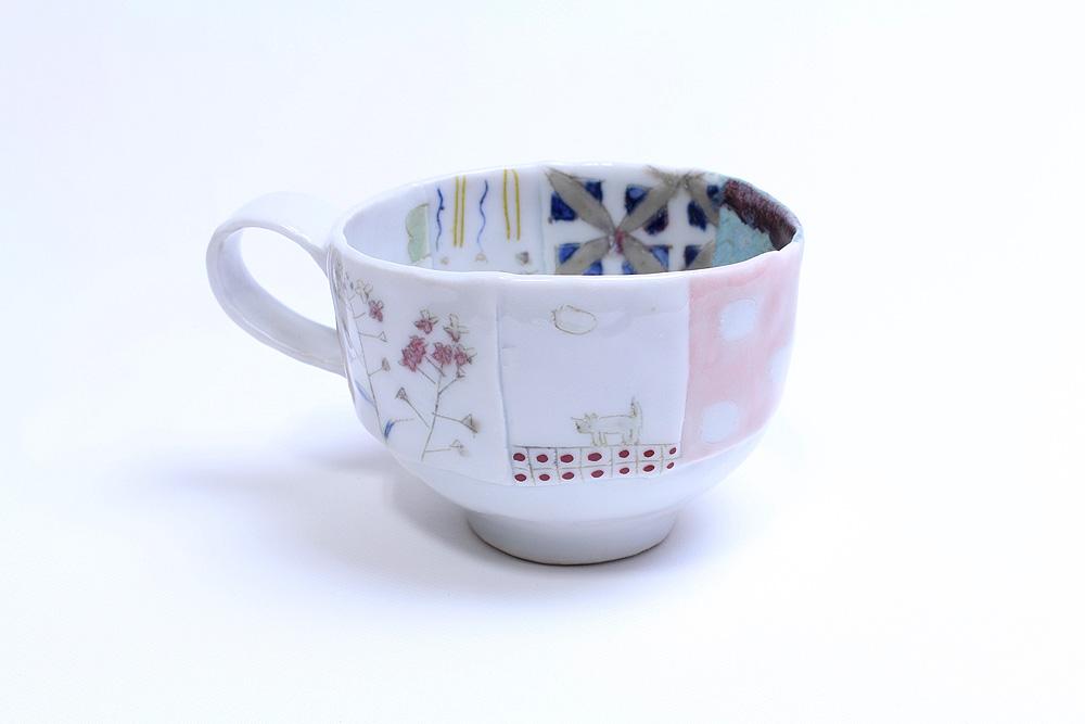 西山千代子 / はりあわせマグカップ