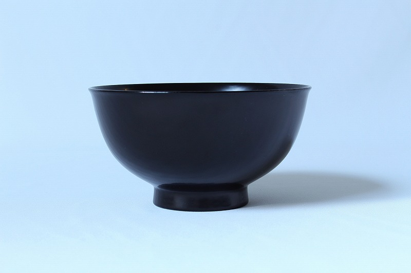 瀬戸國勝 / 粥椀(黒)